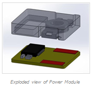 Exploded view of Power Module