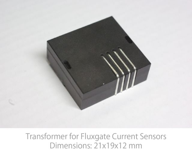 Transformer for Flux Gate Current Sensors